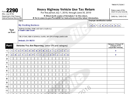 2290 form heavy highway use tax  14 Heavy Vehicle Use Tax (HVUT)